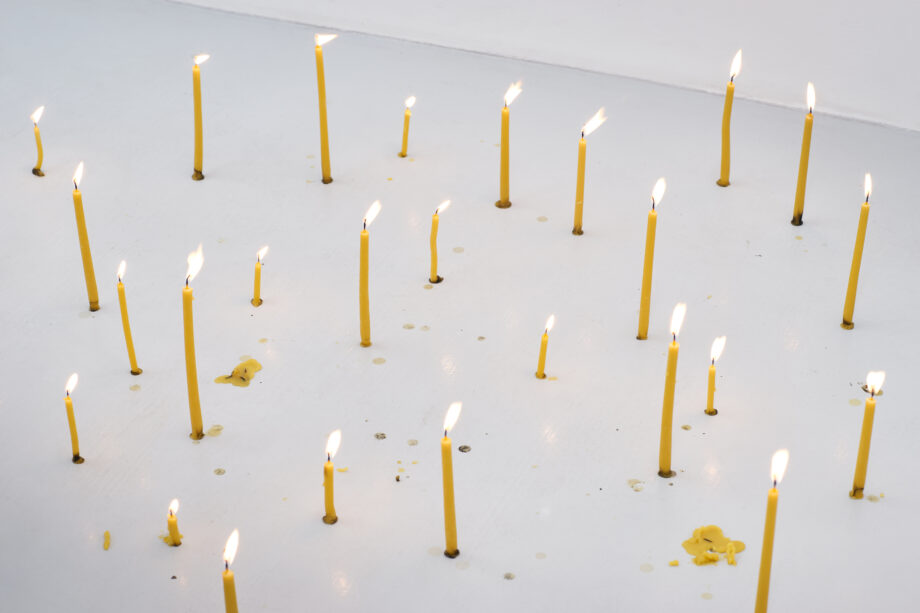 """Ashes to ashes"", Øleg&Kaśka, Galeria Skala, Poznań, 2020"