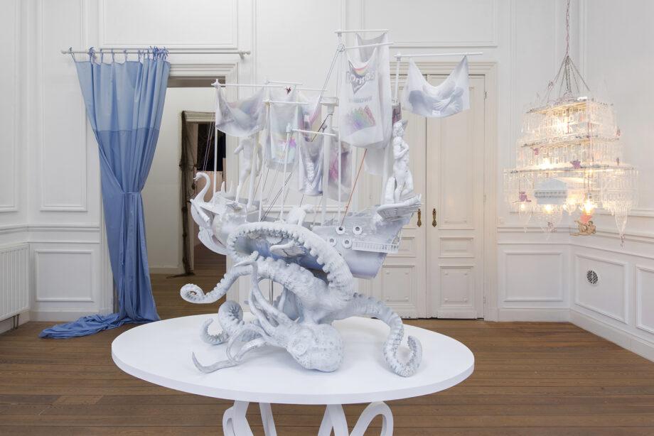 ",,A Conquest"", Simon Fujiwara, Dvir Gallery, Brussels"