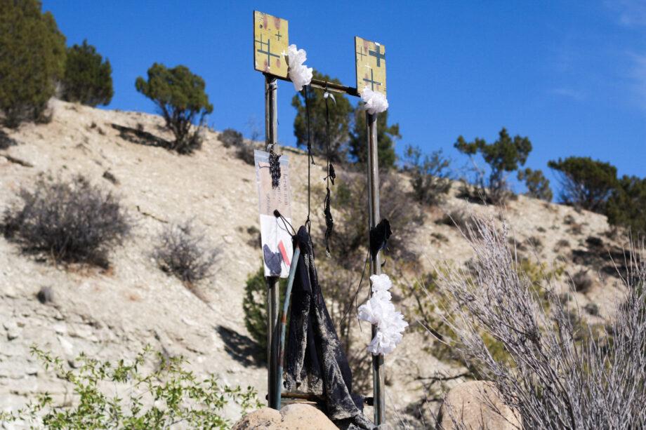"""Shoulder Blade"", Rebecca R Peel, Final Hot Desert, 2020"