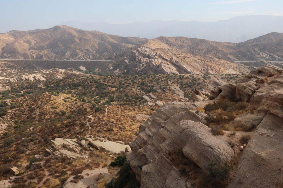 """Hushed Inheritance"" by Tatiana Sky at Garthim, Vasquez Rocks Natural Area, Los Angeles 2021"